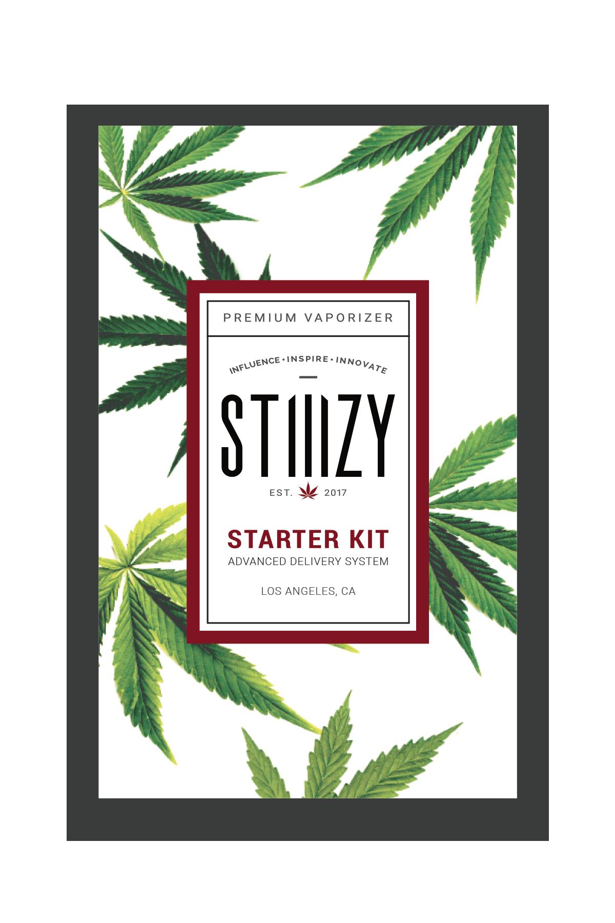 Stiiizy Battery Starter Kit (Black, Orange, Blue, Red, Pink